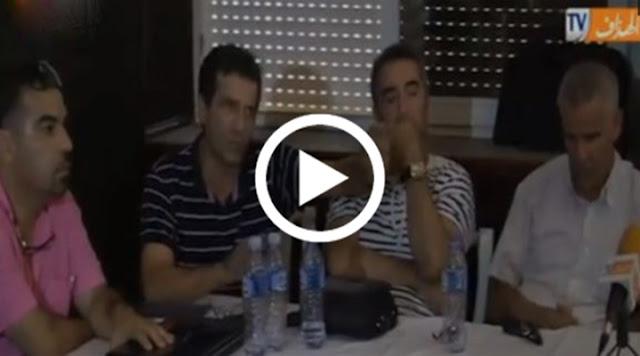 """VIDÉO. JS Kabylie : Kamel Abdeslam : """"s'il faut faire un sit-in au centre ville, on doit le faire"""""""