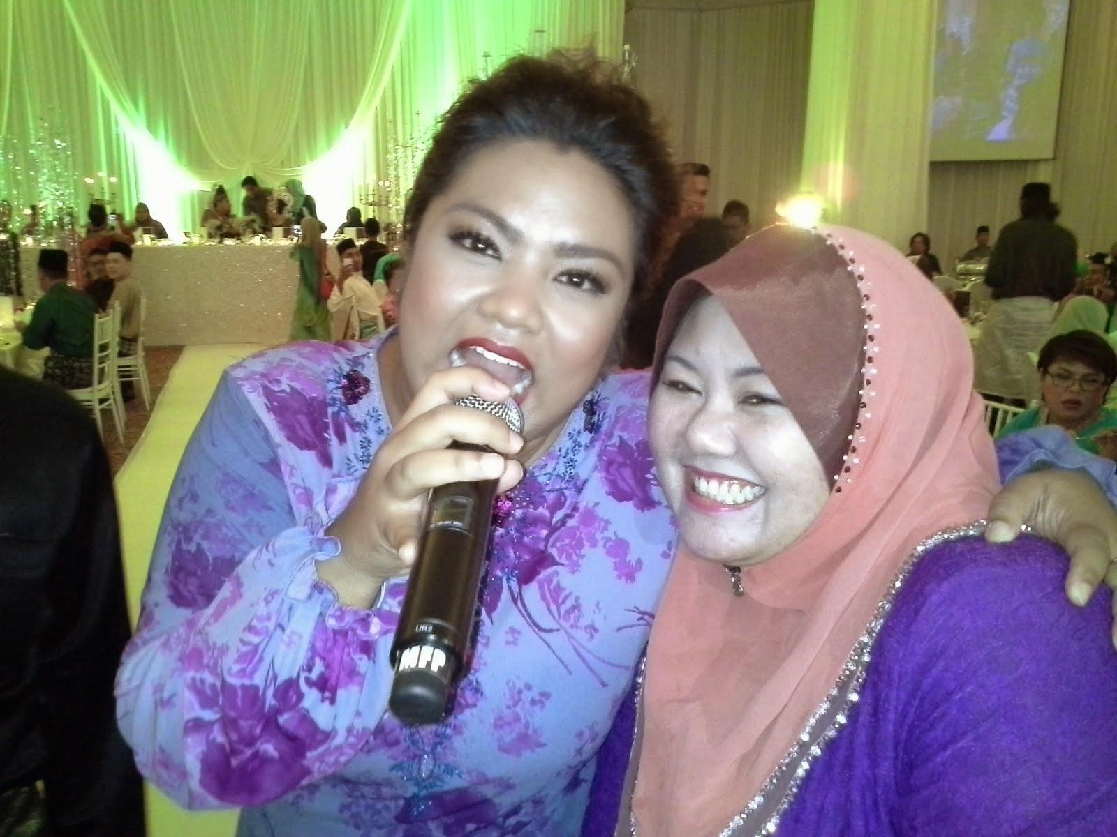 me wif Dina Nazir