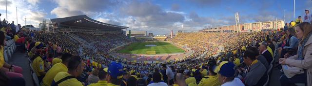 28515 espectadores en el Estadio de Gran Canaria
