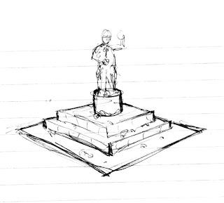 Sketch of Warhammer 40k Terrain Project