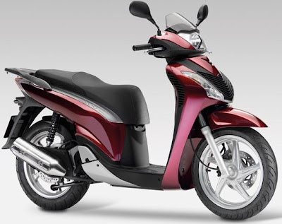 Honda Scoopy 125 red color