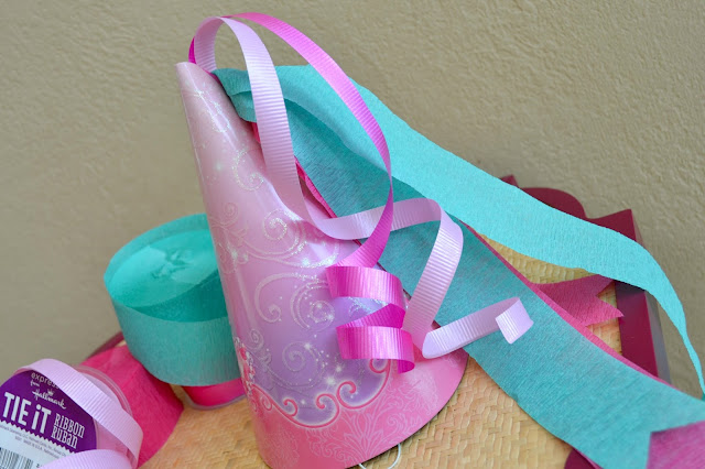Mommy Testers DIY Disney Princess party hats for party #DreamParty
