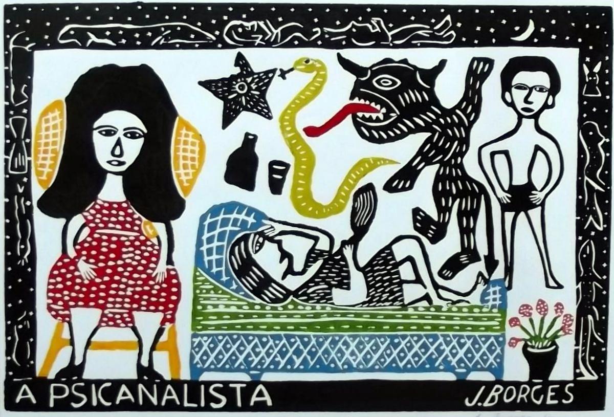 A Psicanalista - J Borges
