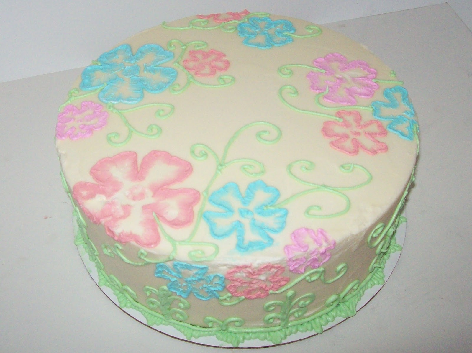 buttercream birthday cakes