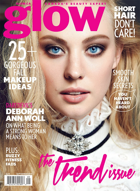 Actress @ Deborah Ann Woll - Glow, September 2015