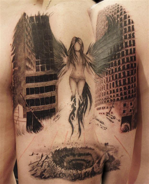 Dark Angel body Tattoo Designs