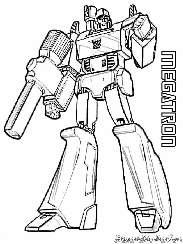 Transformers Megatron Coloring Pages