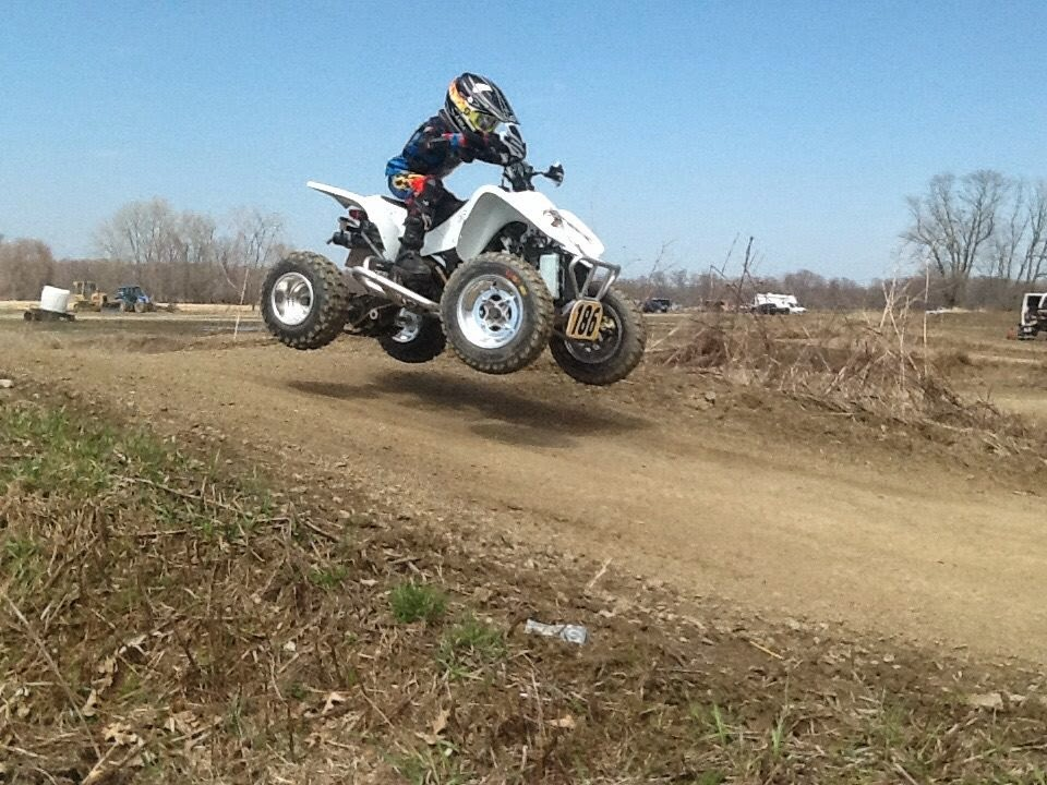Lucas on his DRX 90 getting ready for race season #DRR #DRRUSA #DRRracing