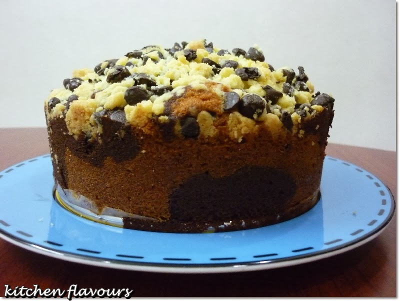 Kitchen Flavours Marbled Chocolate Crumble Cake Bake Along 59
