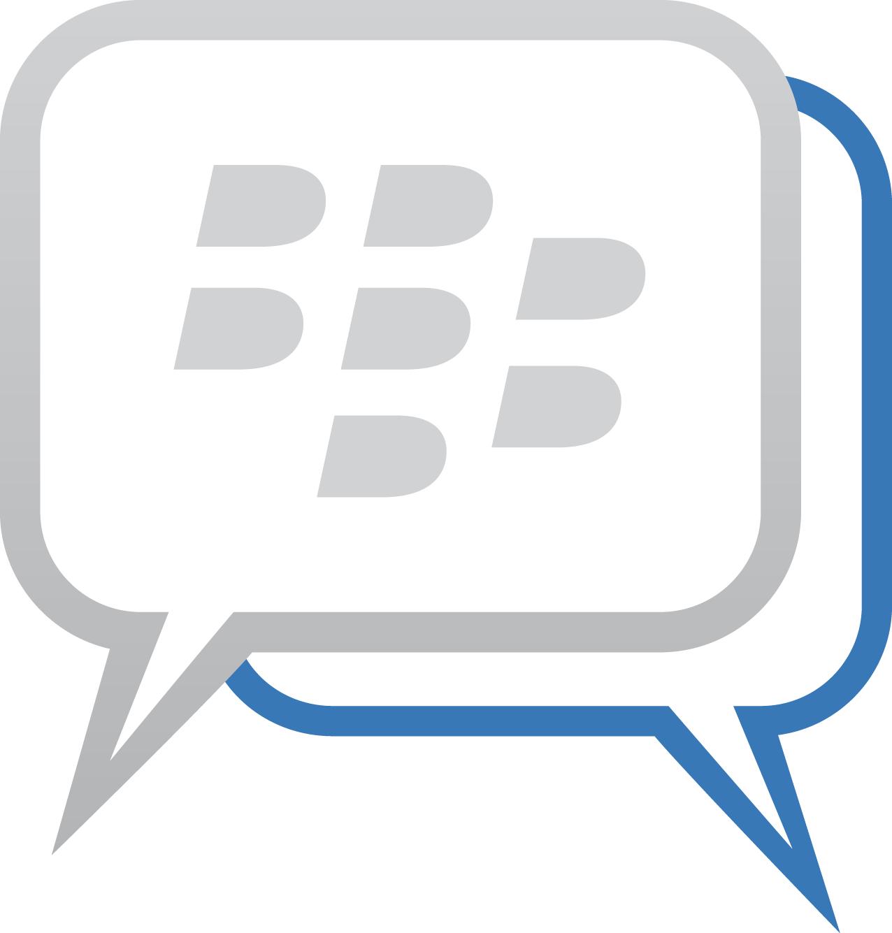 vector of the world blackberry messenger bbm logo