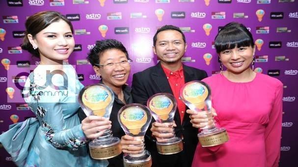 Senarai Penuh Pemenang Juara Anugerah Lawak Warna 2013
