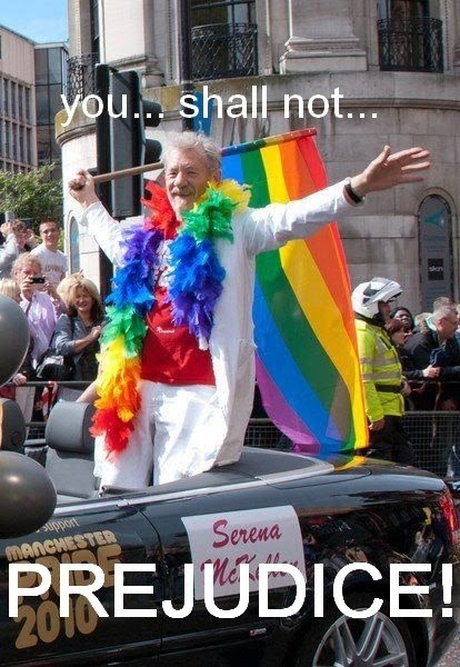 Ian McKellen - You Shall Not Prejudice