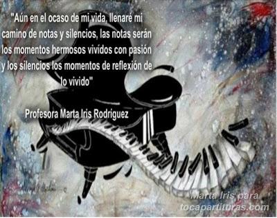 16. Momentos 10 Reflexiones, frases y pensamientos musicales por la Profesora Marta Iris Rodríguez Números 11-20