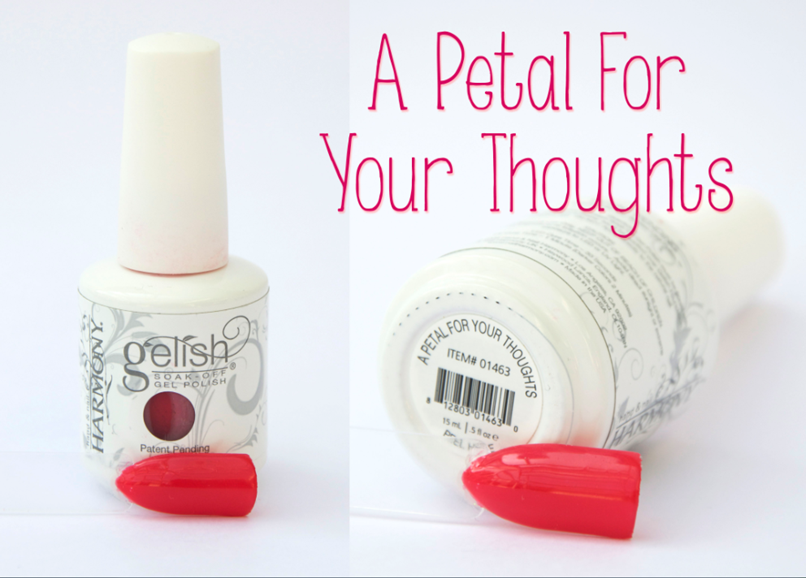 Gelish A Petal For Your Thoughts Spring Summer Gel Nail Varnish Pink
