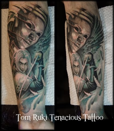 Tom Rutki Final Fantasy VII Game Tattoo