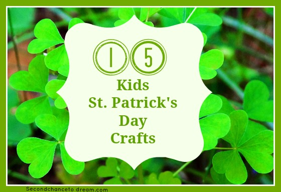 15 Kids St. Patricks Day Crafts