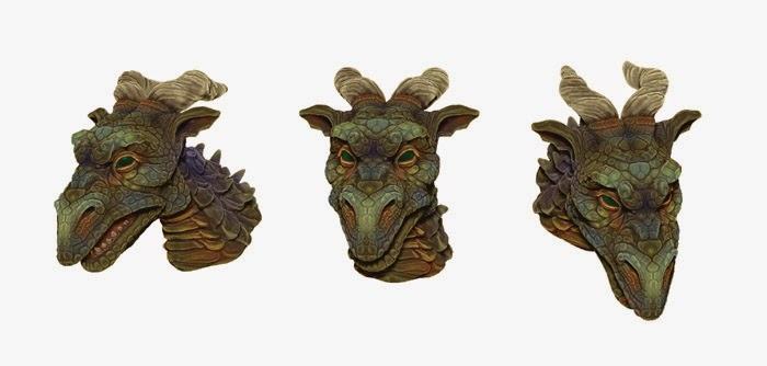 Horned Green Dragon montage