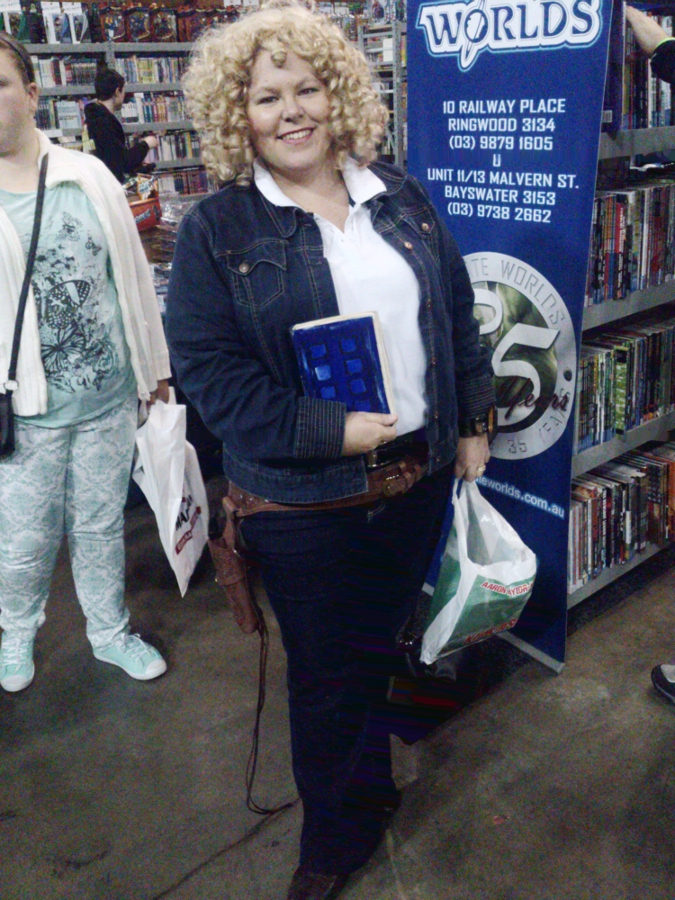 Doctor Who River Song cosplay