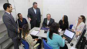 Ciclo de Conciliação iniciou - se  em Delmiro Gouveia com 222 audiências cíveis na últim sexta - feira(18)