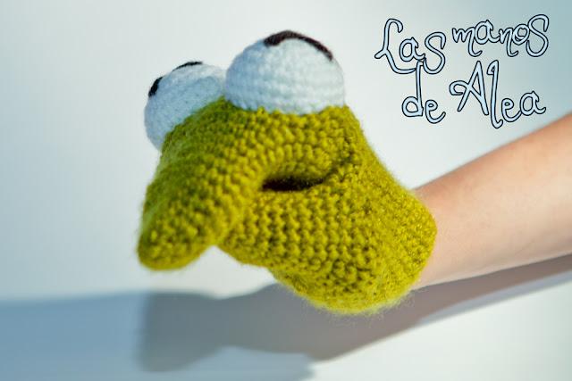 Frog Hand Puppet Craft