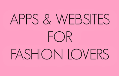 Guest blogger Cali Jae shares fashion apps and webs. Visit www.forarealwoman.com