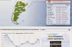 FreeMeteo: pronósticos extendidos del tiempo meteorológico en todo el mundo