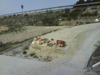 peligrosos baches Canal Imperial de Aragón Zaragoza