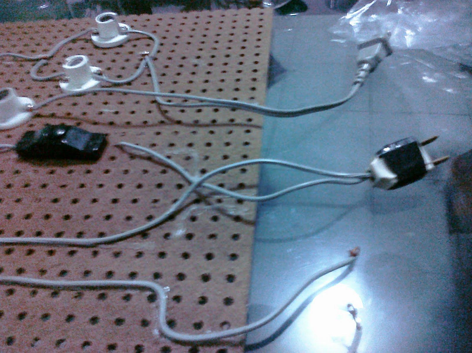 Circuito Basico : Como hacer un circuito electrico basico