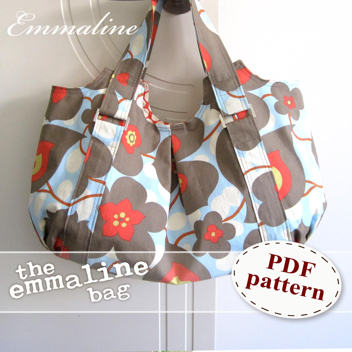 Patterns For Bags : Emmaline Bags: Sewing Patterns and Purse Supplies: The Emmaline Bag ...