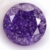 violet ice cubic zirconia