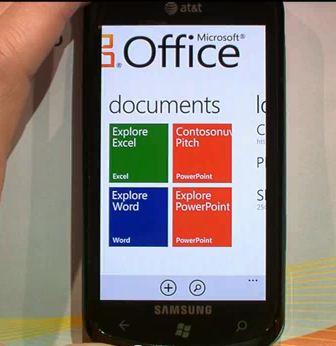 Microsoft Office 365 on Windows Phone 7