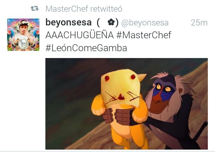 masterchef leon come gamba alberto