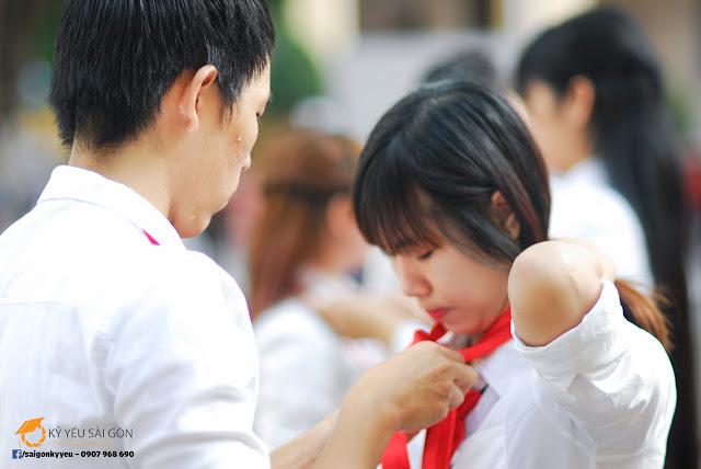 Chụp ảnh kỷ yếu đẹp - Đại học Sài Gòn