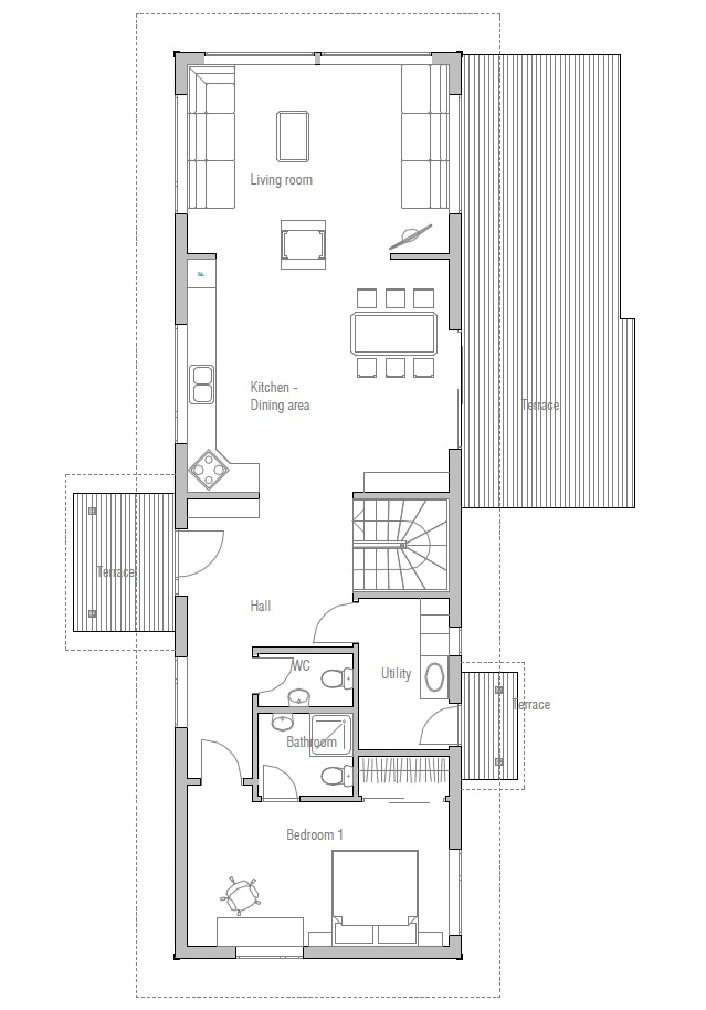Affordable home plans february 2013 for Economical house plans