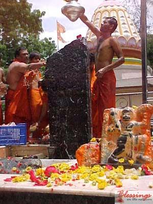 Deity of Shani Shingnapur