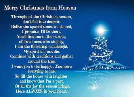 at this time of year they play nonstop christmas moviesi love it its 1145pm my husband and kids are all sleeping and here i - Merry Christmas In Heaven Dad