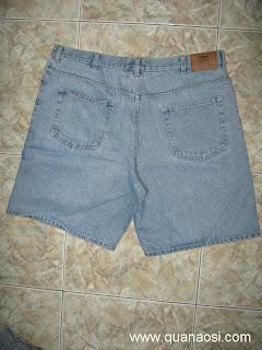 Quần short jean size lớn nam