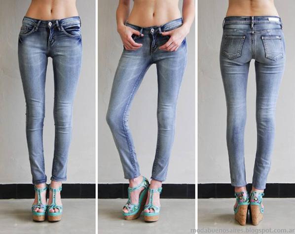Moda jeans pantalones de verano 2014 Sweet verano 2014.