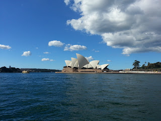Sydney Opera House, outside Quay Restaurant, Sydney