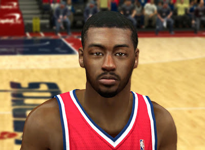 NBA 2K13 John Wall Cyberface Mods