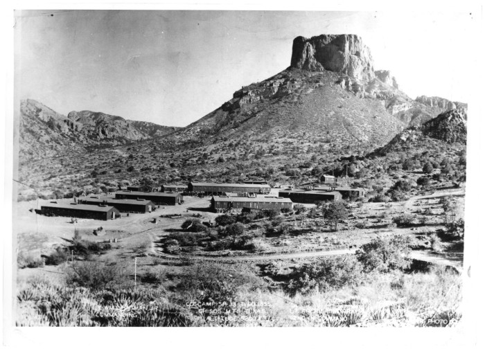 Men at CCC Camp in Fort Davis - The Portal to Texas History