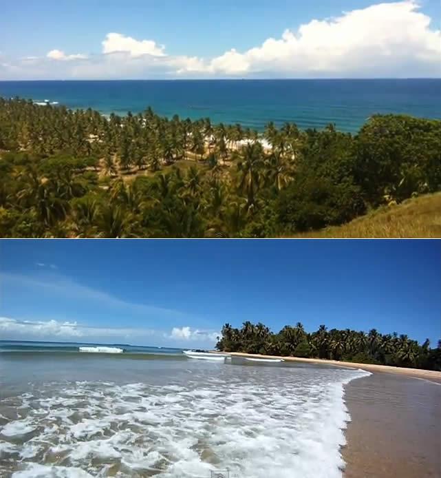 Península de Maraú - Ponta do Mutá - Bahia, Brazil