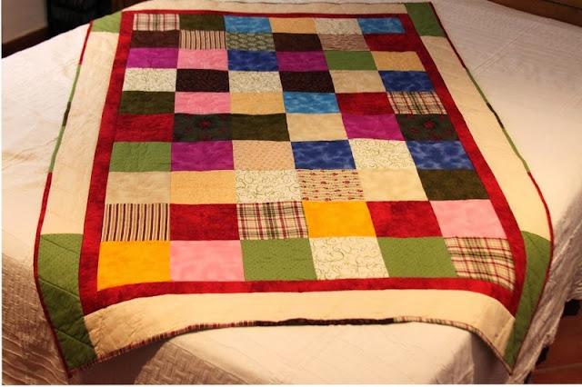Edredones y colchas patchork estilos tendencias - Como hacer mantas de patchwork ...