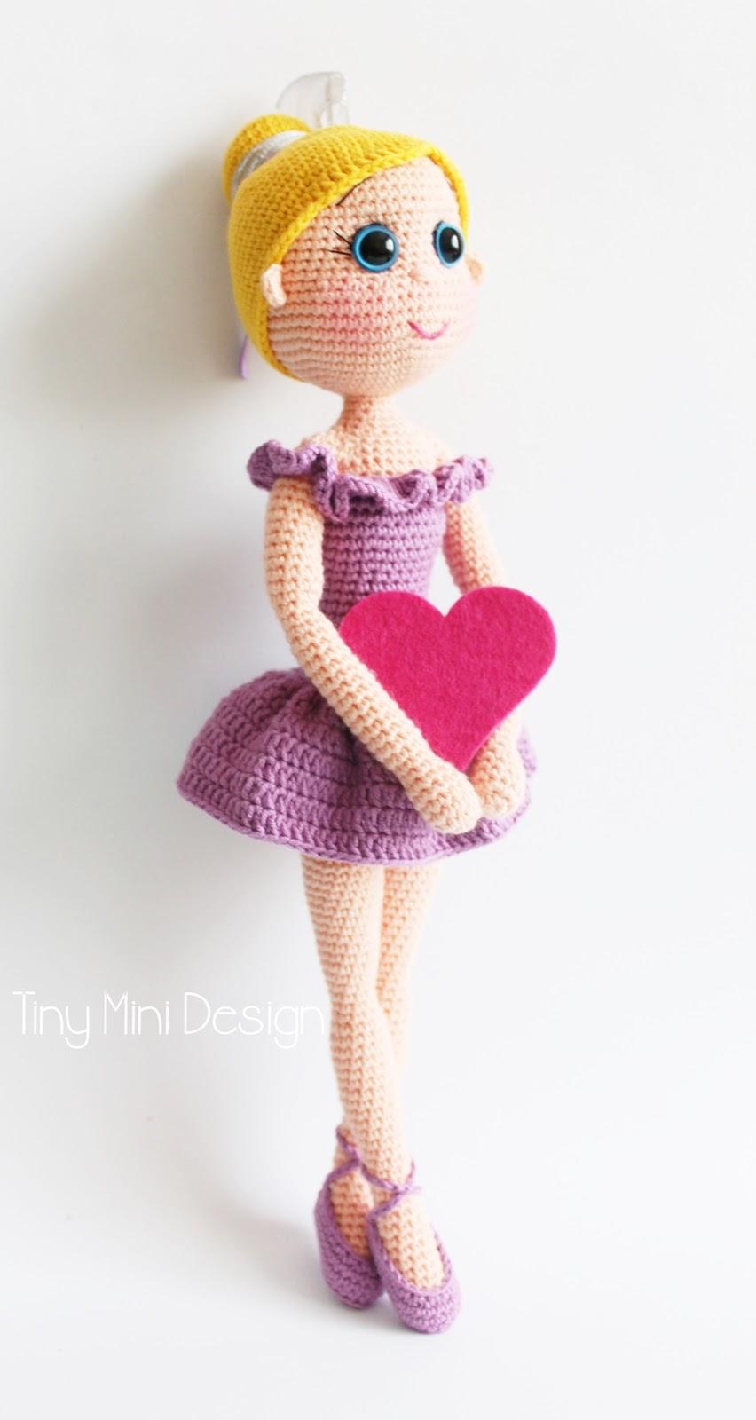 Knitting Pattern Ballerina Doll : Amigurumi Balerin Bebek-Amigurumi Ballerina Doll Pattern ...