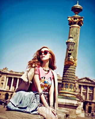 Jessica Jung SNSD Girls' Generation Vogue Girl Magazine June 2013 Paris