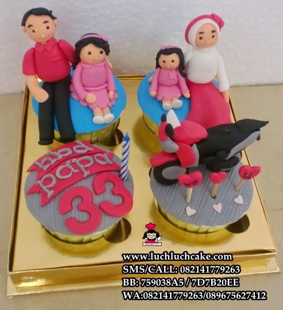 Cupcake Keluarga dan Honda CBR Daerah Surabaya - Sidoarjo