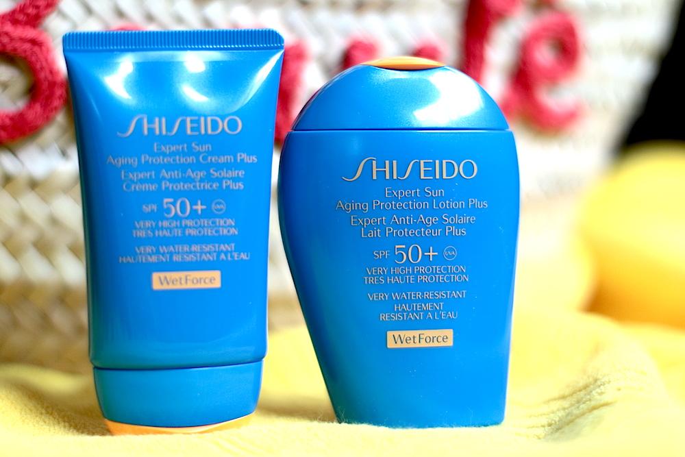 shiseido solaires wet force avis test