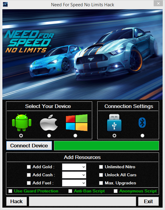 need for speed no limits mod apk unlimited money and gold android
