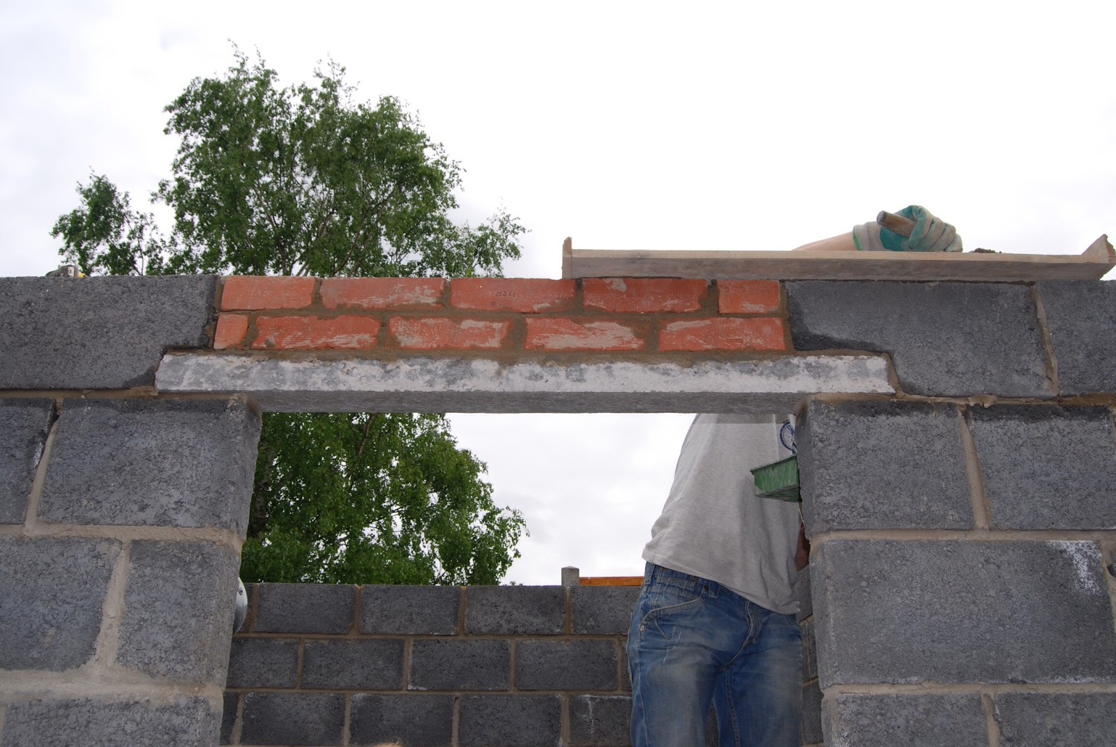 New Block Shed Self Build Part 4 Roof Cladding Finishing Off Brick Dust Glitter
