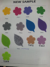 Acrylic Felt - 1m(RM15.00), 1/2m(RM9.00), 1/4m(RM6.50)